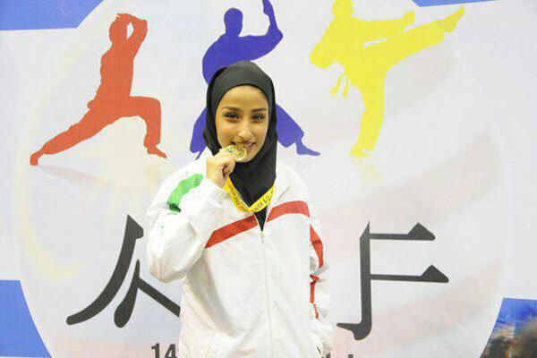 تصویر در چالش سخت برای نخستین مدال آور تاریخ کاراته بانوان