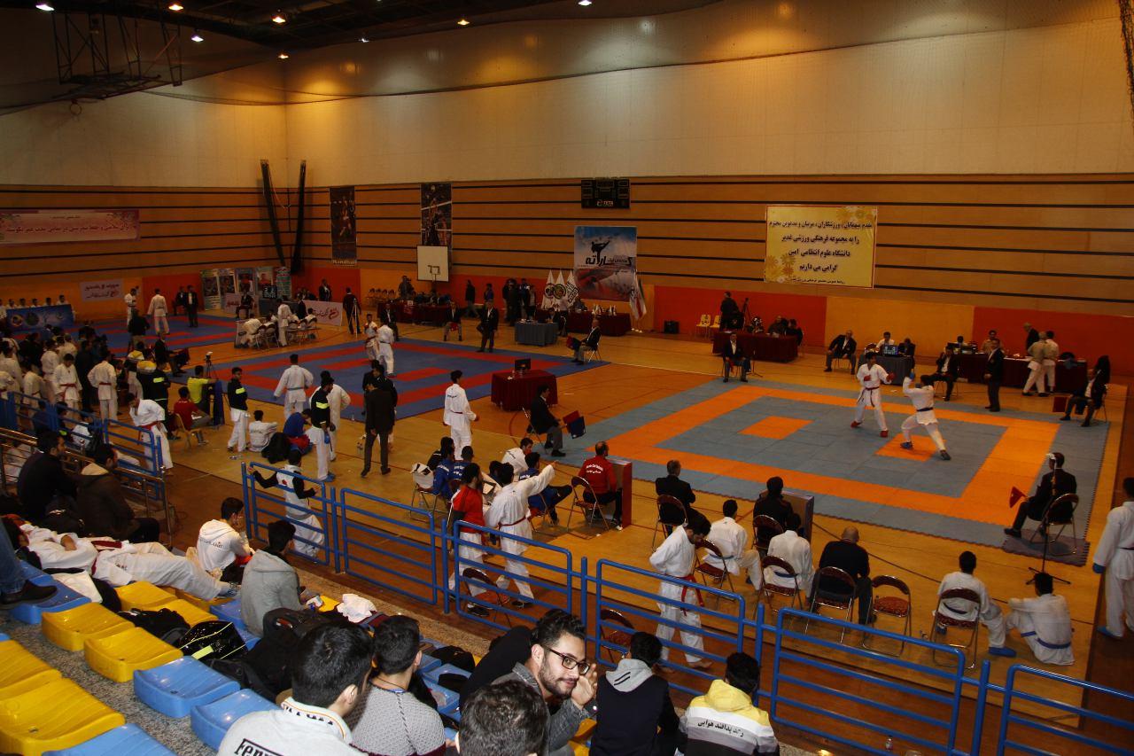 تصویر در لیگ های کاراته همچنان در بلاتکلیف