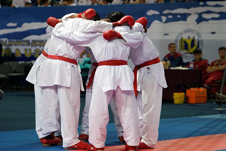تصویر در قطعیشدن ۴ سهمیه کاراته ایران برای المپیک توکیو