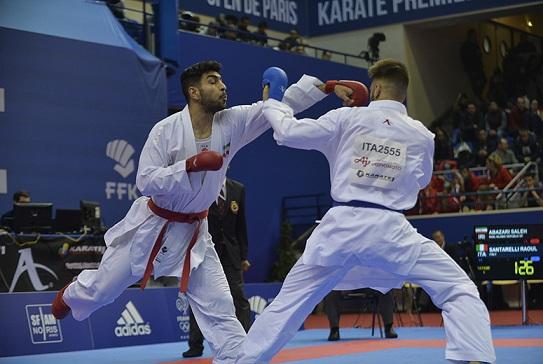تصویر در اباذری:من در اردوی بعدی تیم ملی کاراته حاضر می شوم