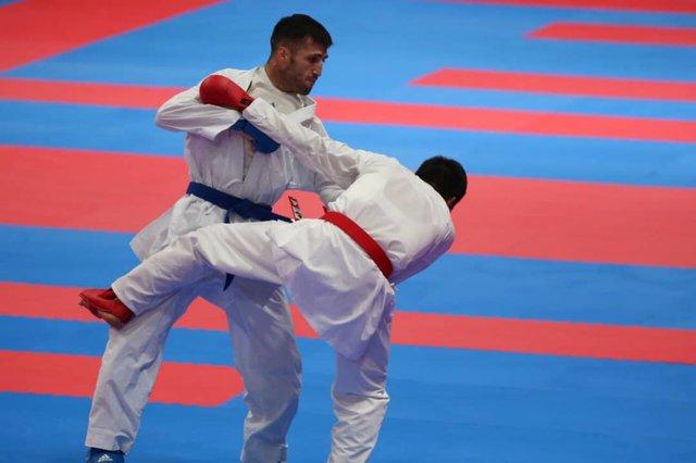 تصویر در کاراته ایران مقابل مردم رو سفید است