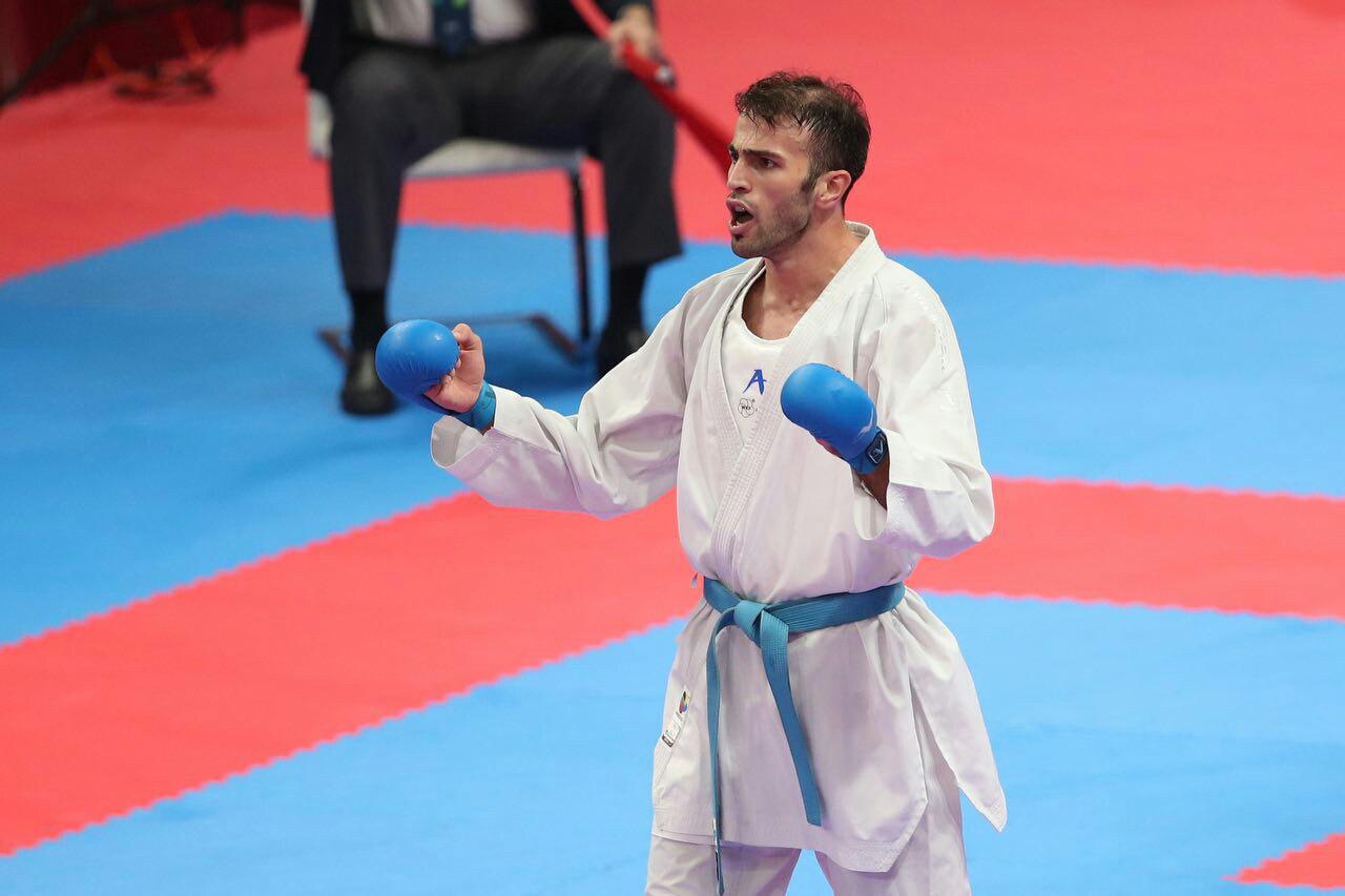تصویر در عسگری: حمایت مسئولان از کاراتهها در حد پیام تبریک باقی نماند/ در مسابقات کاراته وان اتریش شرکت میکنم