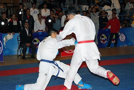 تصویر در اعلام نفرات برتر رقابت های کاراته وان پسران