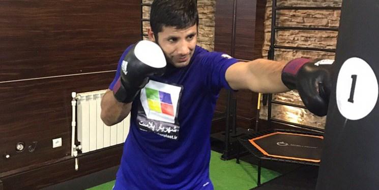 تصویر در الهامی: کمربند قهرمانی MMA را میخواهم