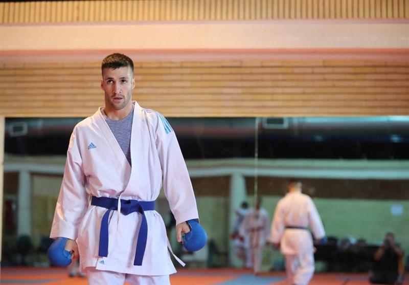 تصویر در مهدی زاده: بار دیگر قدرت کاراته ایران در جهان ثابت شد/خوشحالم مبارزات من یکی از ده مبارزات برتر جهان شد