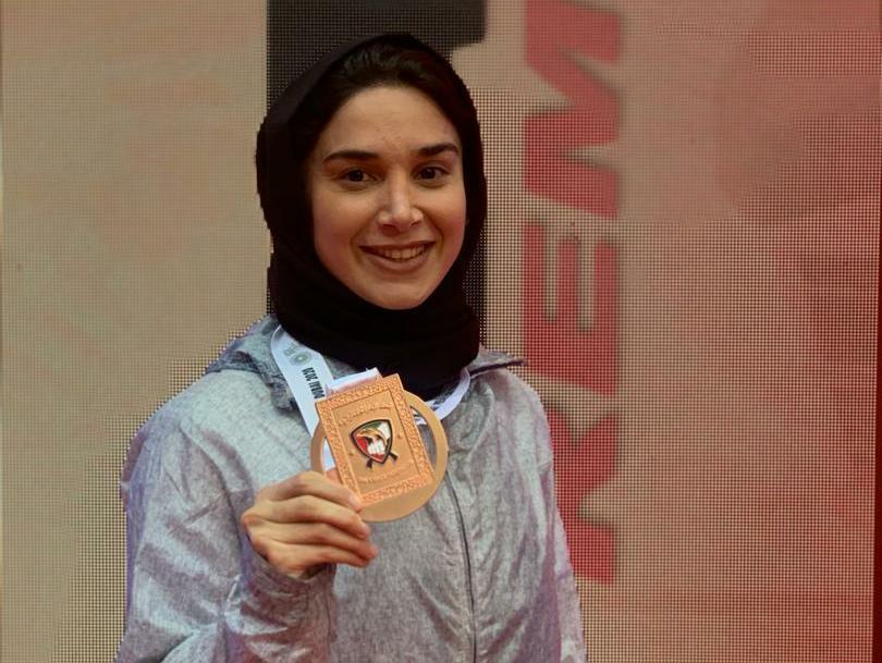 تصویر در علیپور: هدف من فقط رسیدن به المپیک نیست، در توکیو مدال می خواهم
