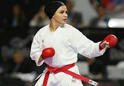 تصویر در بهمنیار: وارد حواشی خانه کاراته نمی شوم/ صددرصد سهمیه المپیک را کسب می کنم