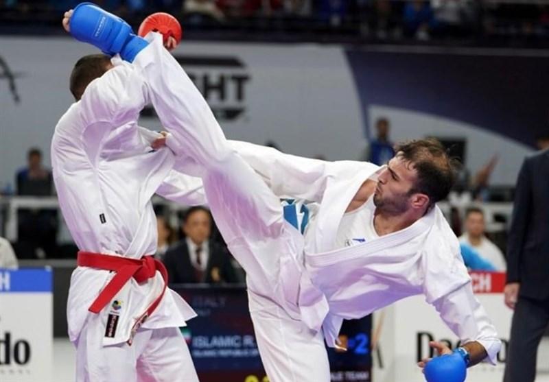 تصویر در با تیمی قدرتمند راهی توکیو میشویم / سرباز کاراته ایران هستم