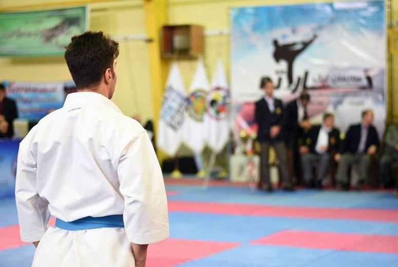 تصویر در معرفی نفرات برتر مسابقات مجازی کاتا، سبک ابداعی مربی بین المللی کاراته ایران