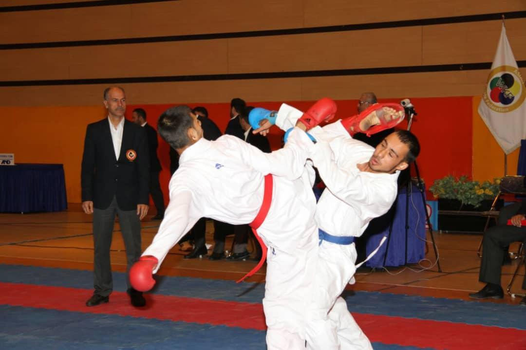 تصویر در هیات کاراته استان ایلام به عنوان هیات برتر کشور