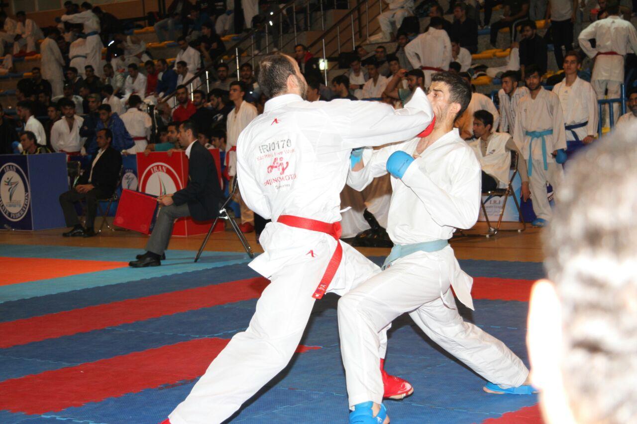 تصویر در پایان مرحله رفت انتخابی درون اردویی تیم ملی کاراته  مسابقات مرحله رفت انتخابی درون اردویی تیم ملی کاراته آقایان برگزار شد