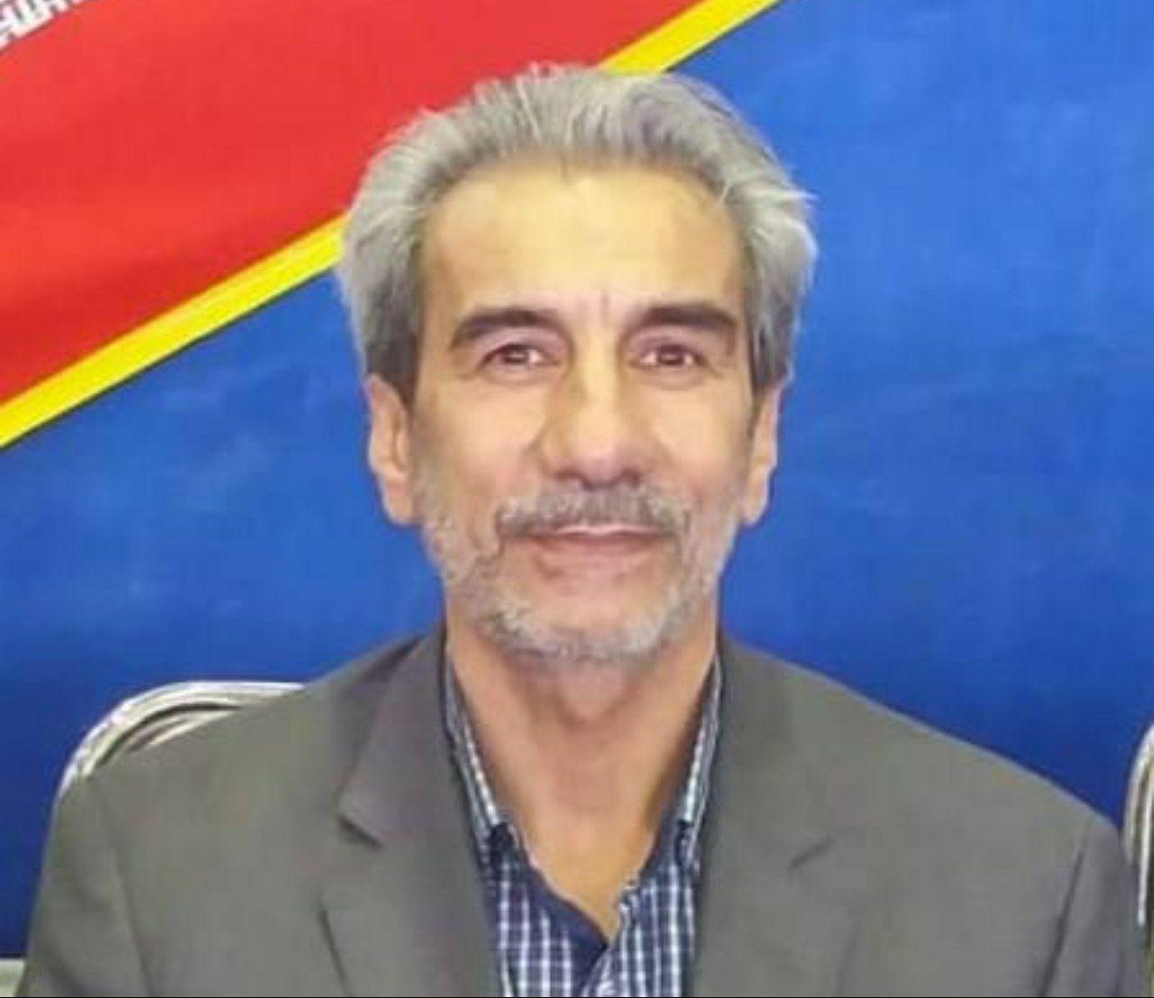 تصویر در حبیب الله ناظریان رئیس هیات کاراته شد