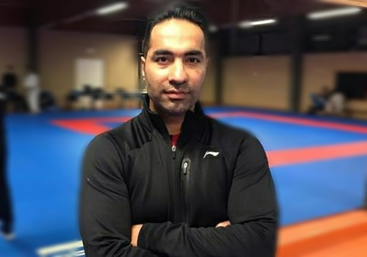 تصویر در حسین روحانی: همه در حذف کاراته مقصر هستیم!