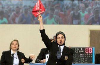 تصویر در قضاوت مسابقه نماینده رژیم صهیونیستی توسط داور ایرانی/ در غفلت و سکوت فدراسیون کاراته و وزارت ورزش رخ داد!